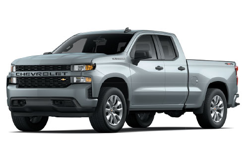 2021 Chevrolet Silverado 1500 Double Cab Custom $239/Month 24 Month Lease At Ed Rinke Chevrolet