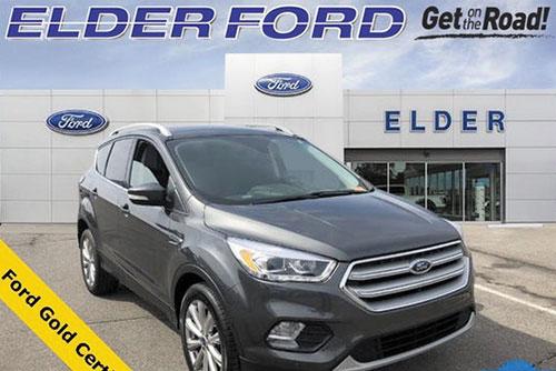 2018 Escape Titanium 4WD $24,266 Sale Price At Elder Ford of Troy