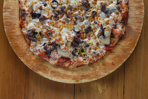$15.99 Large Philly Cheese Steak Pizza at Carlo's Pizza